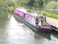 2008 61ft cruser stern narrow boat (new BSC) In excellent repair, freshly painted