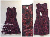 Brand New Miss selfridge dress size 4