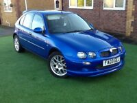 MG ZR nice looking honest reliable car with MOT and TAX