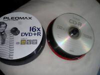 CD- R & DVD +R DISCS