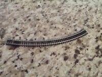 Model train track N gauge railway