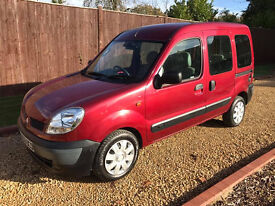 2004 RENAULT KANGO 1.5 DIESEL **MOBILITY SCOOTER OR WHEELCHAIR CONVERSION**