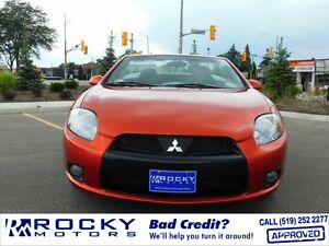 2012 Mitsubishi Eclipse Spyder GS-Sport - BAD CREDIT APPROVALS