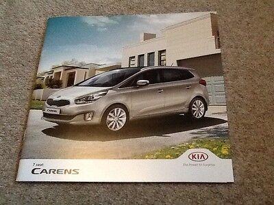 KIA - Kia Carens UK Sales Brochure 2014