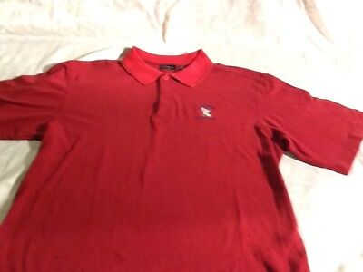 MENS WALTER HAGEN 2006 US OPEN WINGED FOOT GOLF POLO / RED SIZE L