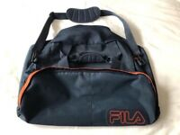 Large Fila Navy and Orange holdall Bag