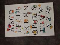 ABC nursery canvas