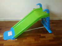 Toddler slide and scooter