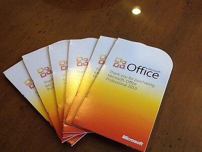 Microsoft  Office Professional 2010 32 64 Bit  Retail  Pkc   Genuine