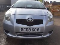 Toyota Yaris 1.0 VVT-i T2 3dr guaranteed mileages drives like new