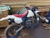 Honda xr 400r off road only