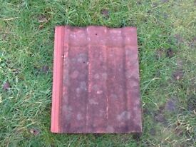 Marley Ludlow major red roof tiles