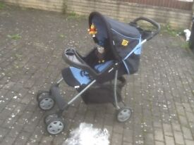 Pushchair in full working order ,washed and cleaned -£25--HAUCK brand