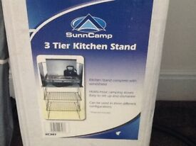 Brand new never used a sun kitchen stand