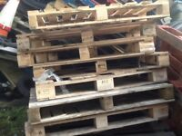 NEW WOODEN PALLETS FOR SALE £3 each EXCELLENT CONDITION