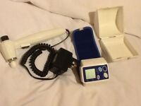 Boots pain therapy unit, boots wrist blood pressure monitor.