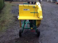 Tractor mounted saw bench for sale.