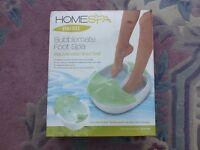 Homedics Home Foot Spa - Brand new in box
