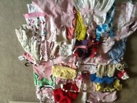 Bundle of girls clothes age 3-6 months 50 items