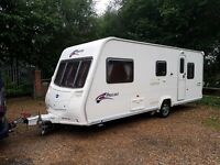 Bailey Pageant Provence 5 berth caravan 2009 MOTOR MOVER, Awning BARGAIN !!