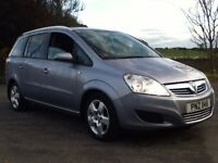 *!*7 SEATER*!* November 2008 Vauxhall Zafira 1.6 Breeze **FULL YEARS MOT** **EXCELLENT CONDITION**