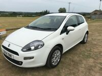 Fiat Punto. 2014. upgraded blue and me pack. air con, sport seats. reverse alarms,cruise control