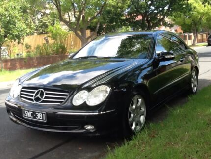 Mercedes Benz CLK 240 leather s/roof coupe with roadworthy