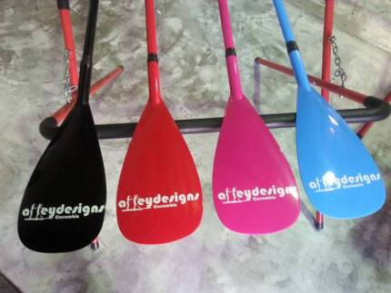 Stand up paddle board PADDLES in colour/adj $150/$125Alleydesigns Currumbin Waters Gold Coast South Preview