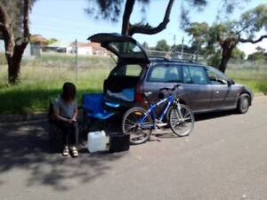 Reliable wagon for travel,sleep in,a year rego slip,bed,camping s