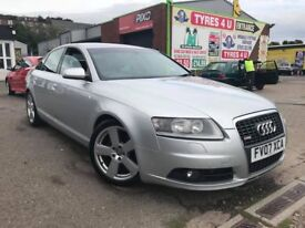 **TRADE IN TO CLEAR** AUDI A6 2.0 TDI S LINE AUTO (2007) - SALOON - HIGH MILES - MOT - HPI CLEAR!