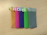 iPod Nano (2nd gen) vibrant colour socks x5