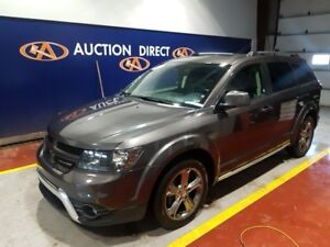 2017 Dodge Journey Crossroad 7 PASS, TV/DVD, LEATHER, AWD, NA...
