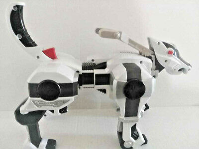 2004 Bandai Power Rangers Toy Gun Morphing Robo Police Dog  - Power Ranger Toy Gun
