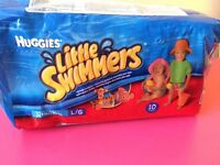 little swimmers by Huggies, 14kg plus,