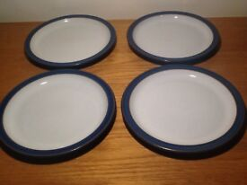 Denby Imperial Blue: 4x side plates