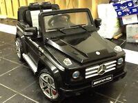 Childs car. Mercedes Benz G55AMG