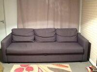 Dark Grey Sofa/Sofa Bed excellent condition
