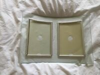 Glass Picture Frame - 2 X Pictures
