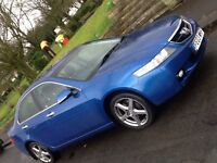 2003 HONDA ACCORD VTEC EXECUTIVE WITH SAT NAV AND FULL LEATHER . SHOWROOM