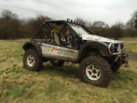 Landrover/Range Rover Dakar challenge truck
