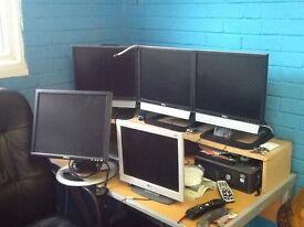 Monitors x 5