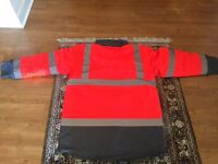 work wear hi vis en471 - coat & trouser ( NEW)