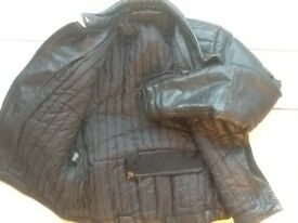 Biker leather clothes