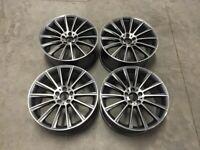 """18 19 20"""" Inch Mercedes Twist style wheels A C E S CLASS W204 W205 W212 W213 5X112 W221 W222"""