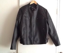 "Men's ""David Beckham"" style Leather Jacket Size XXL Ocean Reef Joondalup Area Preview"