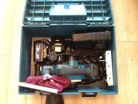MAKITA 18v cordless planer DKP180 complete kit