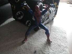 SPIDERMAN TOYS AND SINGLE BEDDING