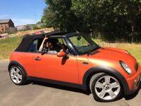 Mini Cooper Convertible, 1598CC Petrol, 2DR, Manual 2004