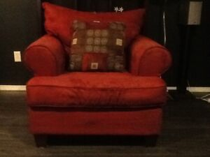 Large Red Chair