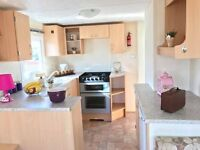 Double Glazed Static Caravan For Sale At Sandylands Saltcoats Near Wemyss Bay With Direct Beach
